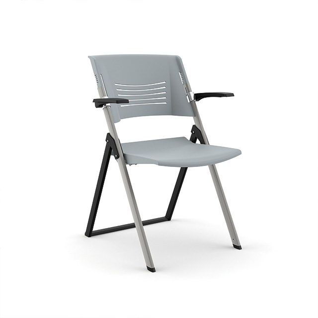 Wren-Folding-Guest-Chair-Gray